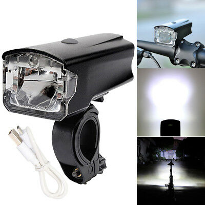 420LM Bike LED Front Light Bicycle Head Light Lamp Waterproof USB Rechargeable