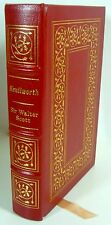 Sir Walter Scott KENILWORTH Leather Easton Press 1st Edition Historical Romance