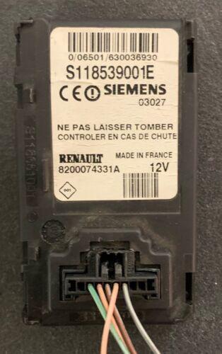 lecteur carte de démarrage RENAULT megane SCENIC 2  8200074331A S118539001E