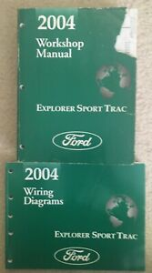 2004 Ford Explorer Sport Trac Workshop Manual & Wiring ...