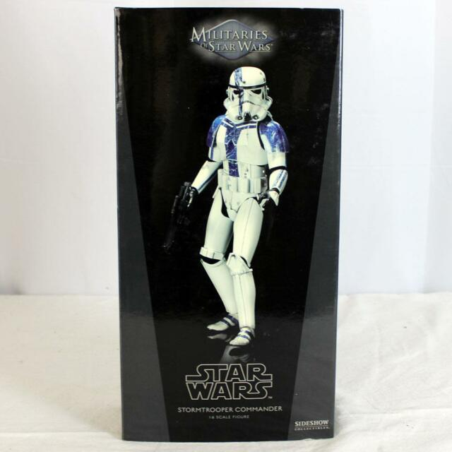 Militaries of Star Wars Sideshow 1:6th Scale Figure Stormtrooper Commander NR!