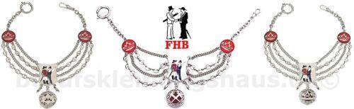 FHB 895 Zunftuhrkette Uhrketten Zunftkleidung Zunft Maurer Dachdecker Zimmermann