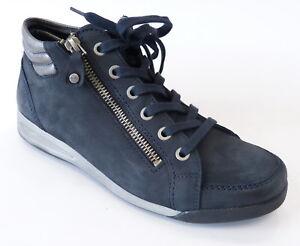 Sneaker 44410 09 High Weite Rom Blau Reißverschluß G Ara Boot Details Top Street Gun Zu sQdxBhrCt