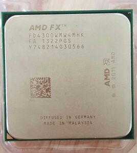 Amd Fx 4300 3 8ghz 4core 4mb 95w Socket Am3 Cpu Processor 730143302647 Ebay