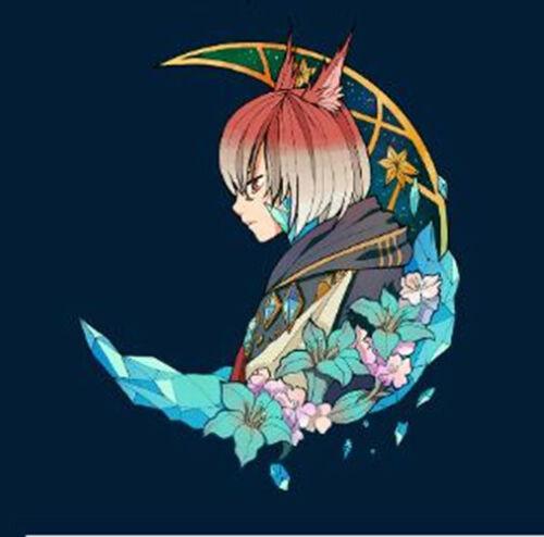Final Fantasy XIV FF14 The Crystal Exarch Emet Selch Keychain Keyring Acrylic N