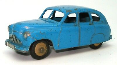 Dinky Toys 153 Standard Vanguard Saloon Fawn empty Reproduction box