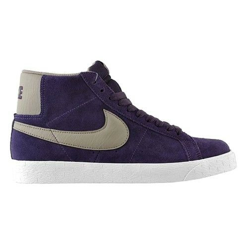 Nike BLAZER SB Purple Black-White Light Brown 310801-500 Skate Price reduction Men's Shoes best-selling model of the brand