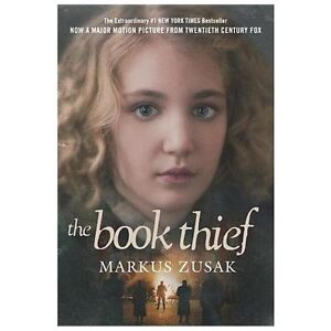 The-Book-Thief-by-Markus-Zusak-a-paperback-book-FREE-USA-SHIPPING-theif