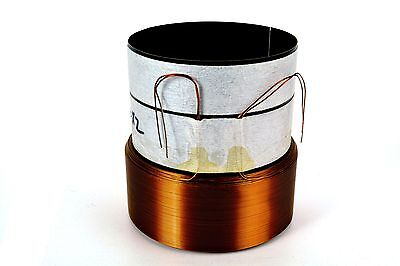 "3"" Dual 1.4 Ohm Voice Coil 8 Layer Round Copper Subwoofer Speaker Parts  VC8992"