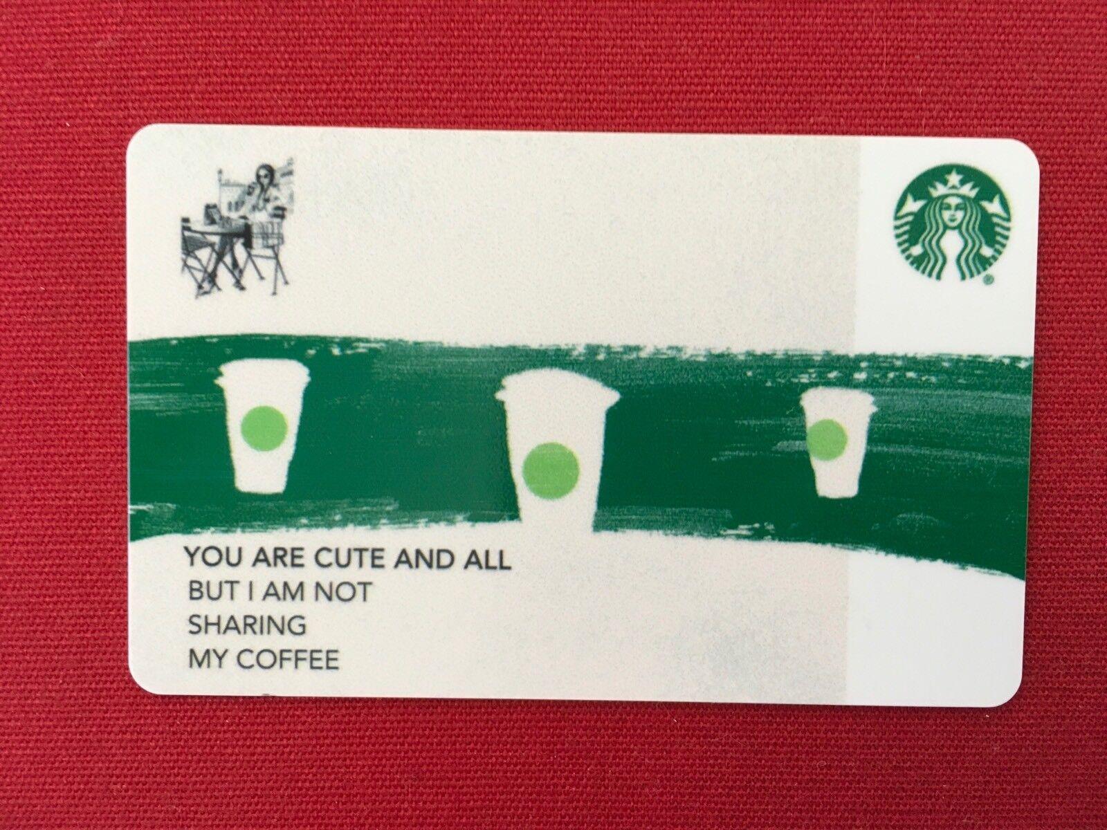 STARBUCKS GIFT CARD BUSINESS CARD - GREEN STRIPE CO BRANDED ...