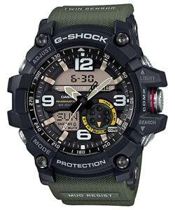 Casio-G-Shock-Black-Green-Twin-Sensor-Mudmaster-GG1000-1A3-GG-1000-1A3DR