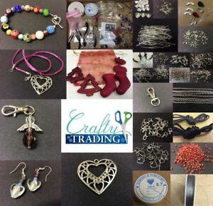 Jewellery-Making-Starter-Kit-Findings-Beads-Tools-Instructions-Xmas-Freebies
