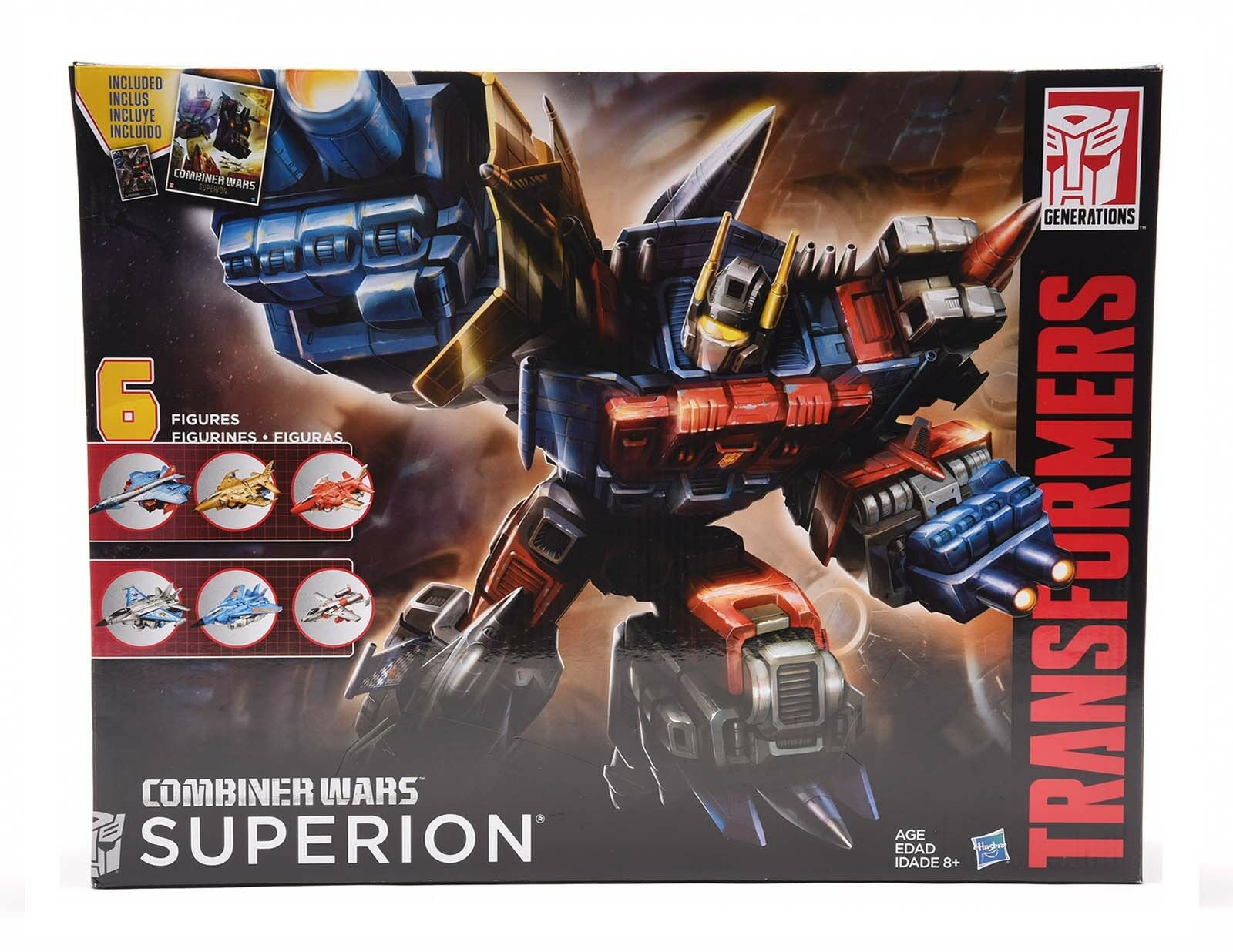Transformers Generations Combiner Wars Superion Aerialbots Christmas Gift Kids Kids Kids 56ff83
