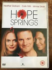 Colin Firth Heather Graham Minnie Driver HOPE SPRINGS ~ 2003 Romcom | UK DVD