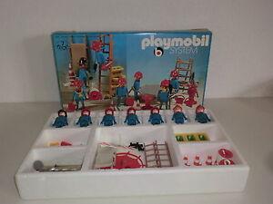 PLAYMOBIL-Klicky-3403-superconjunto-7-BOMBERO-brandmeister-loschtrupp