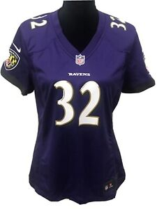Details about NFL Nike On Field Baltimore Ravens Womens Jersey #32 Eric Weddle Medium