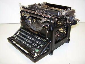 Antique 1931 Underwood Model 5 Vintage Typewriter #3869739-5