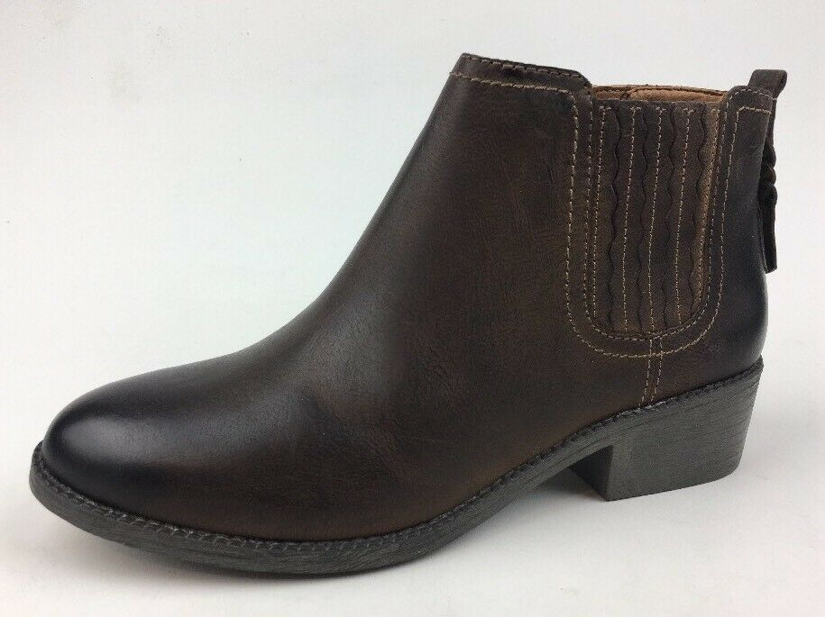 Sperry Women's Brown Juniper Bree Leather Ankle Boots Size 8 M 421