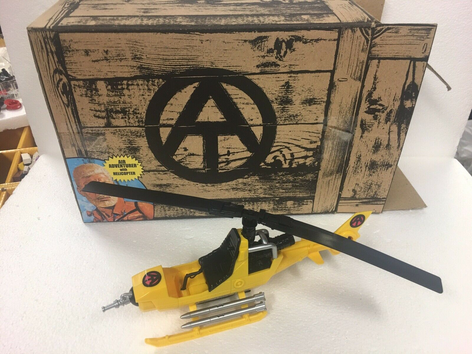 GI Joe ARAH 2010 Collectors Collectors Collectors Club Exclusive Air Adventure FANG Helicopter 100% fd783b