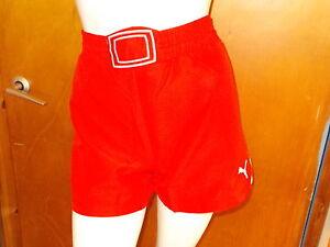 Puma 'powercat 1.10' Pour Femme Football Sports Shorts Uk10 Rouge Mix Bnwt-afficher Le Titre D'origine