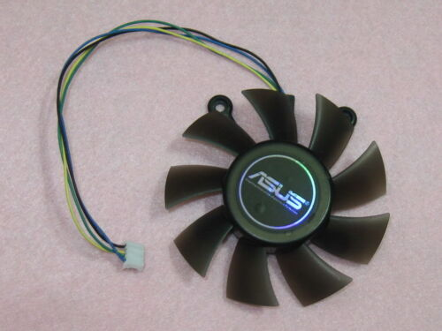 75mm ASUS Video Card Fan Replacement 4 x 43mm 4Pin EFB0812HB DC 12V 0.25A R150