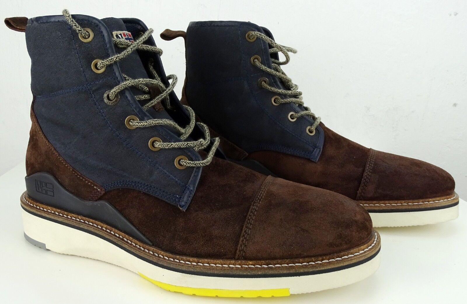 NAPAPIJRI Stiefeletten NEU Stiefel Herren Stiefel Leder Schuhe SchnürStiefel Gr.42 NEU Stiefeletten 125a26