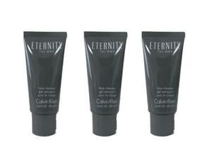 Eternity-Lot-of-3-x-3-4-oz-Face-Cleanser-for-Men-Unboxed-by-Calvin-Klein