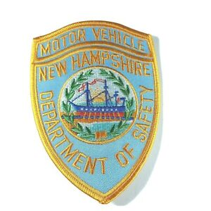 """Motor Vehicle New Hampshire NH Department of Safety 5"""" Shoulder Patch"""