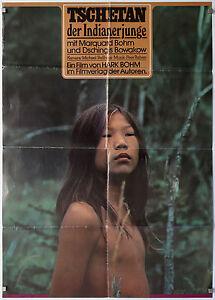 Tschetan-der-Indianerjunge-1973-Hark-Bohm-Kinoplakat-Filmverlag-Z-2-3-Lager-S