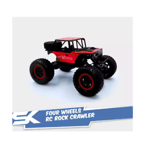 699-127A-Four-Wheels-RC-Rock-Crawler-with-4-8V-700MAh-Rechargeable-Red