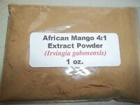 1 Oz. (28 Grams) African Mango 4:1 Extract Powder (irvingia Gabonensis)