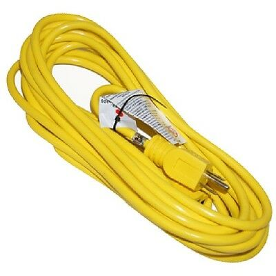 Westgate EX143-25 SJTW 25 Feet 13A Yellow Outside Extension Cord