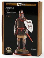 o Figurino AMATI 120 mm - Albrecht Von Hohenlohe (1325 circa)