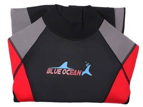 New Men 3mm Neoprene Long Sleeved Dive Suit Scuba Diving Jump Surf Warm Wetsuits