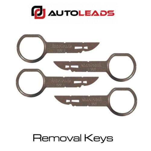 PC5-132 Audi VW Stereo CD Radio Release Keys Removal Tool Set of 4