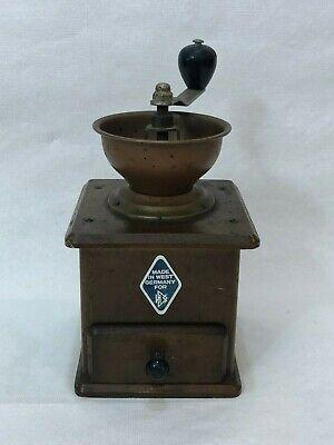 Vintage Coffee Grinder Made in Western Germany