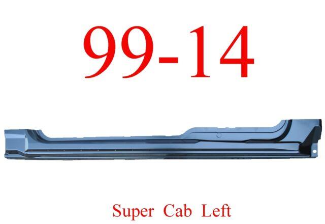 OEM Type 09-14 F150 Super Cab Extended Rocker Set Panel