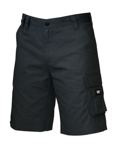 "Caterpillar CAT 1820916 DL black or kelp Rip-Stop work shorts 30/""-42/"" waist"
