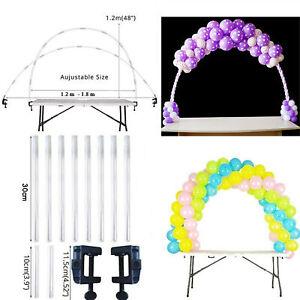 Ballon-ballon-arc-colonne-pied-base-de-mariage-decoration-de-fete-d-039-anniversaire