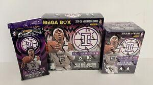 2019-2020-Panini-Illusions-Basketball-NBA-Mega-Box-Blaster-Cello-Factory-Sealed