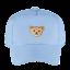 STEIFF Mini Mütze mit Schild Forever Blue 49-55 NEU hellblau  Gr