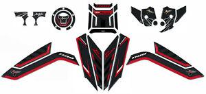 Stickers Kit Guards Heel Pad Gel 3D Compatible Honda Africa Twin 1100 L