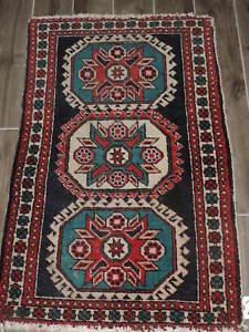2 4x3 8ft Handmade Persian Wool Rug Ebay