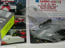 Tameo Kits 1:43 KIT CPK 004 Mc Laren Ford MP4/1C GP USA West 1983 NEW