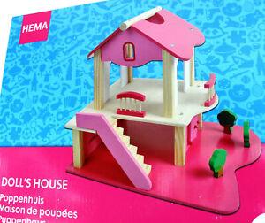 Gelegenheit | Hema Puppenhaus Pink 36,5 x 26,5 x 32 cm