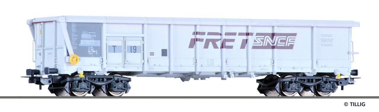 Tillig 76616, aperto carri merci FRET, SNCF, NUOVO E OVP, h0