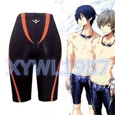 Anime Free! Iwatobi Swim Club Nagisa Hazuki Cosplay Pants Swimming Trunks Shorts
