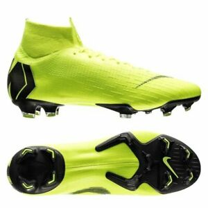 competitive price 42036 0216e Image is loading Nike-Mercurial-Superfly-VI-Elite-DF-FG-Soccer-