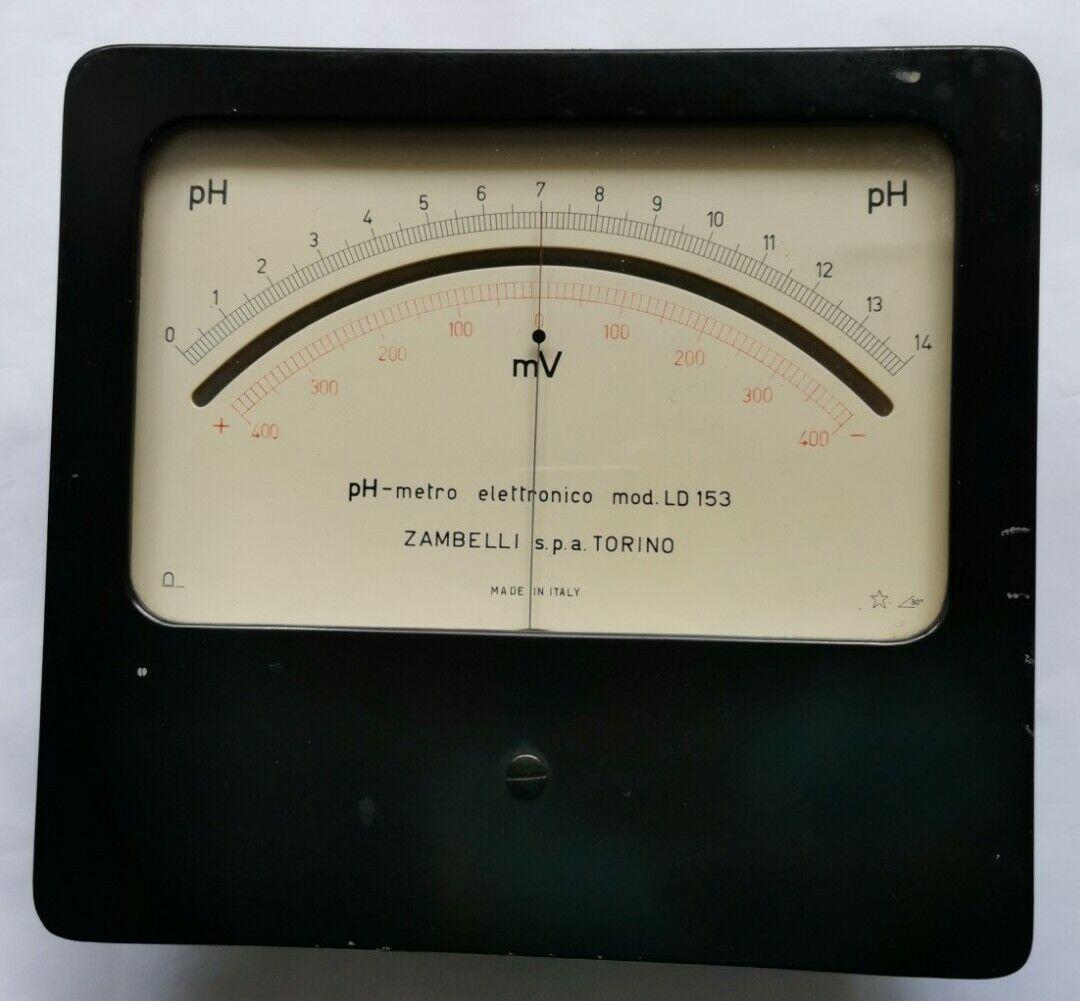 PIACCAMETRO elettronico modello LD 153 ZAMBELLI.