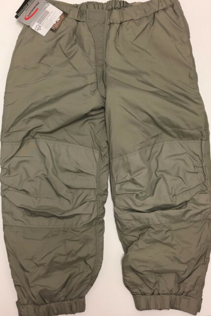 New NWT GEN III Level 7 L7 Extreme Cold Weather ECWCS Trousers Large Regular LR
